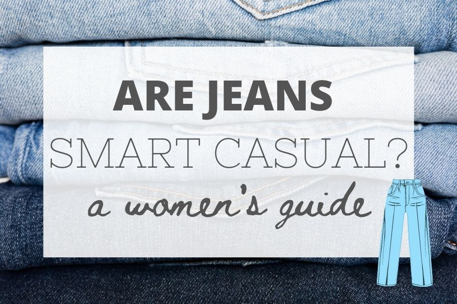 are jeans smart casual