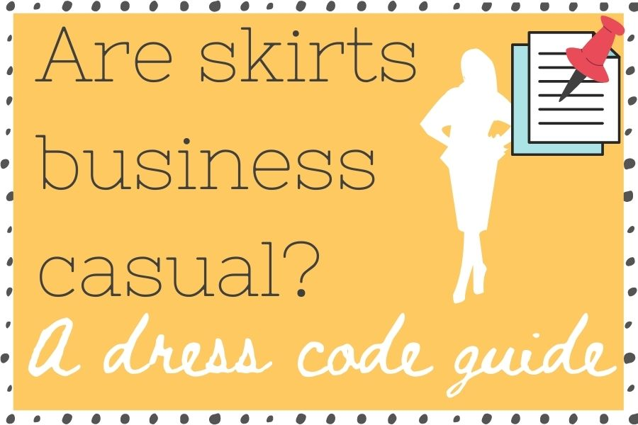 are skirts business casual