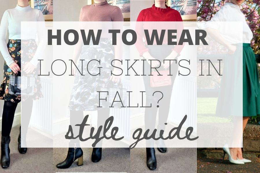 How to wear long skirts in fall