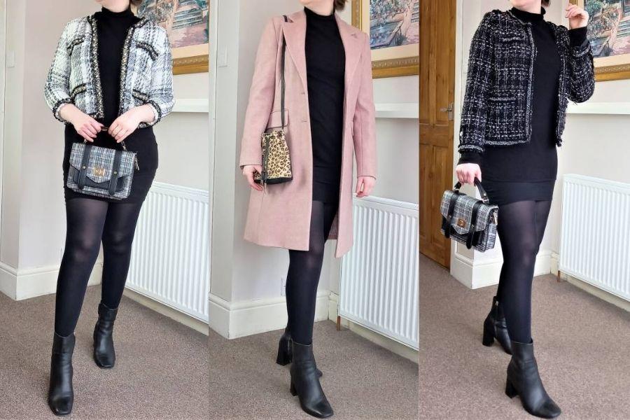 How to wear a turtleneck dress