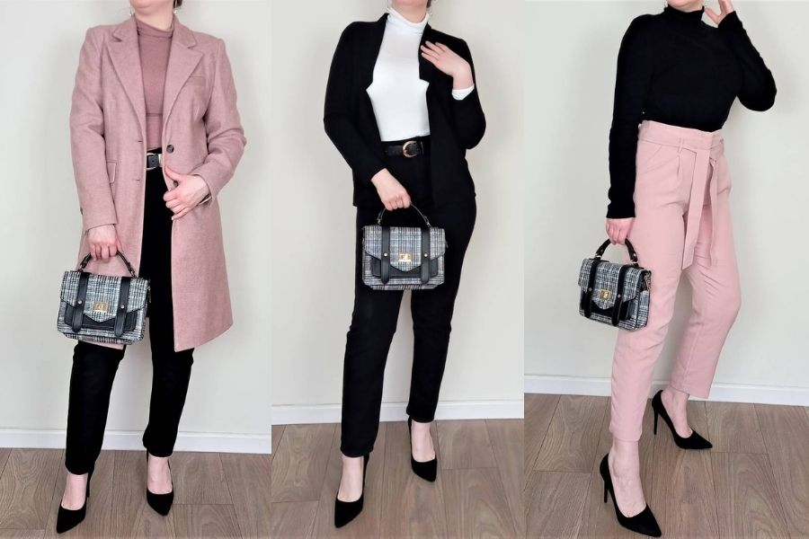 Winter business casual women's outfits