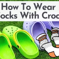 How To Wear Socks With Crocs