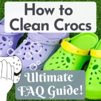 How to Clean Crocs